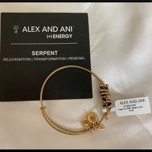 Alex and Ani Serpent Bracelet